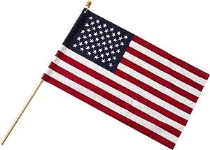 美国海底设计美国涤棉旗,6.35 x 10.16m
