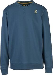 Browning 男式 Buford 圆领运动衫,男式套头运动衫