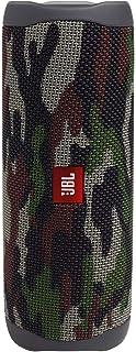 JBL FLIP5 音乐万花筒五代 便携式蓝牙音箱 低音炮 防水设计 支持多台串联 户外迷你音箱 迷彩绿