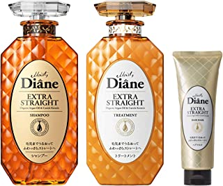 Moist Diane黛丝恩 Prefect Beauty Extra Straight 洗发水&护发素套装 450ml×2+50g