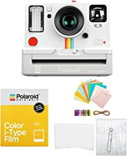 Polaroid Originals OneStep2 取景器 i 型相机带 I 型彩色胶片和配件套装(3 件) 白色