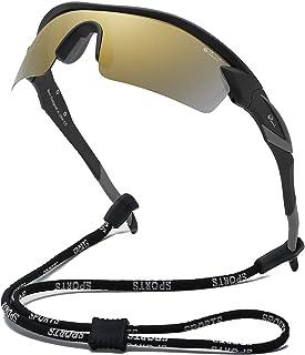Bevi 運動太陽鏡偏光鏡鏡片柔性鏡框男女跑步自行車眼鏡
