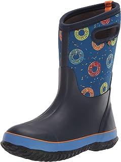 BOGS 儿童经典印花防水雨靴