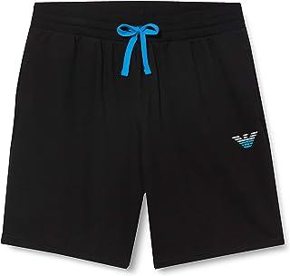 Emporio Armani 安普里奥·阿玛尼 男士家居服 - 标志性厚绒布百慕大短裤