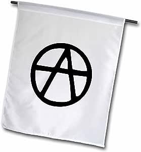MARK Andrews zegear activist–Anarchy–旗帜 12 x 18 inch Garden Flag