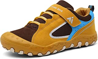 Mishansha 男童女童运动徒步鞋防滑户外散步跑步运动鞋