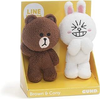 GUND Brown & Cony 2 件套