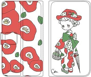 Caho 手机保护壳 翻盖式 薄型印花翻盖 和服和花WN-LC128787_MX  2_ Xperia XZ SO-01J 和服 花C