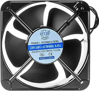 Saim 高速金属机箱风扇,带冷却轴,AC 220-240V,0.45 安培,200 毫米 x 200 毫米