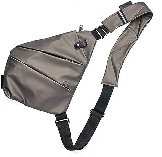 Antelope 女式斜挎包,三拉链,多功能斜挎单肩包,时尚可爱斜跨绳三角形,女式斜挎包