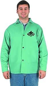MCR Safety 39030L 76.2 厘米耐火棉织物焊接夹克带内袋,绿色,L 码 小号 39030S