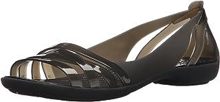 Crocs 卡骆驰女士 Isabella Huarache 2 W 平底凉鞋