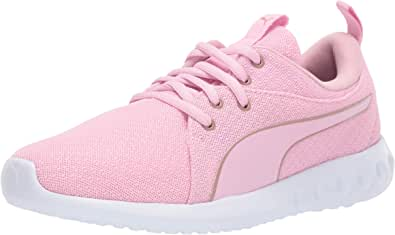 PUMA 男女通用 Carson 2 儿童运动鞋 Pale Pink-rose Gold 1 M US 儿童