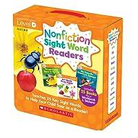 (进口原版) Nonfiction Sight Word Readers Nonfiction Sight Word Readers Level D, Ages 3-7: Teaches 25 Key Sight Words to Help Your Child Soar As a Reader!