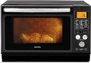 IRIS OHYAMA 爱丽思欧雅玛 过热水蒸汽 蒸汽烤箱微波炉 24L 白色/黑色 有蒸汽杯/无 单品/套装 1) カップ式スチーム(ブラック) MO-FS2403