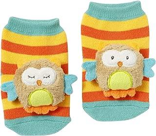 Fehn 可爱袜子 Eule 0-12 Monate