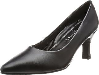 [罗密欧华伦天奴] 浅口鞋 尖头 鞋跟7cm 足围3E PU皮革 VB2306