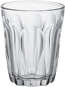 Duralex Provence 6 件套钢化玻璃杯杯,各种尺寸 透明 Set 6, 90ml Provence