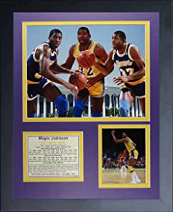 Legends Never Die Magic Johnson 拼贴相框,27.94 厘米 x 35.56 厘米