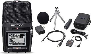 Zoom H2n Handy 手持数字多轨录音包带 APH-2n 配件包