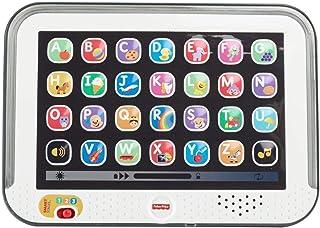 Fisher-Price 费雪 CDG57 – 学习乐趣平板电脑 儿童平板电脑和*玩具 带游戏分级 灰色 1 岁以上儿童玩具 德文