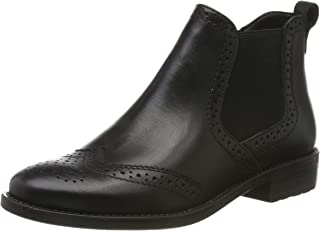Tamaris 女士1-1-25993-23 短靴 黑色(黑色皮革 3) 38 EU