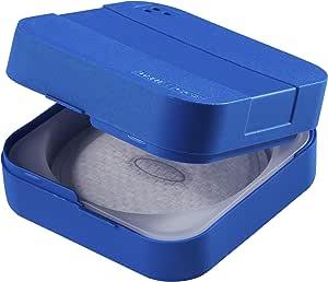 DENTiCASE 卫生收纳盒,蓝色,1件