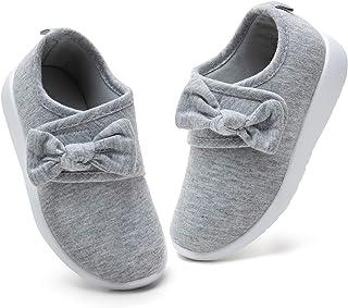 nerteo 女童鞋轻质一脚蹬儿童运动鞋