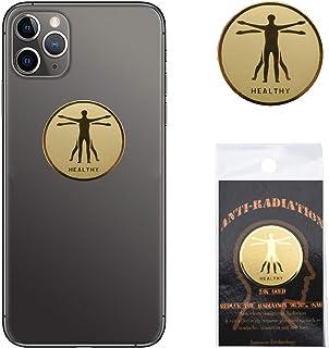 EMF 保护手机防*保护贴纸,负离子 EMF 屏蔽器,适用于手机、笔记本电脑和所有电子设备 Pack of 10