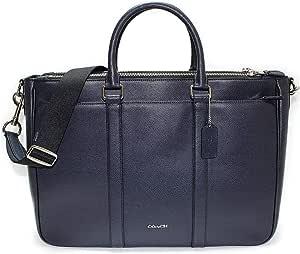 Coach Perry Metropolitan 手提包,十字纹皮革 F59141 笔记本电脑包,午夜