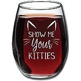 Show Me Your Kitties - 趣味*杯 425.24g - 送给爱猫人士的圣诞礼物 - 送给女朋友、妻子的完美生日礼物 - 恶作礼物 - 晚马克杯