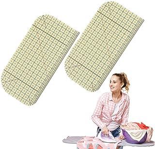 OBANGONG 2 件熱燙直尺 耐高溫熨燙鐵尺,拼接工藝 DIY 縫紉用品測量手工工具,用于絎縫編織。