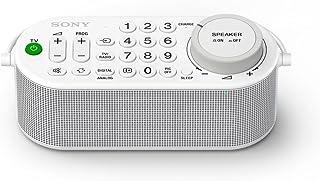 Sony 索尼 SRS-LSR100 便携式电视无线音箱(遥控功能,耳机插孔,16小时运行时间,兼容多种电视品牌,无线连接)白色