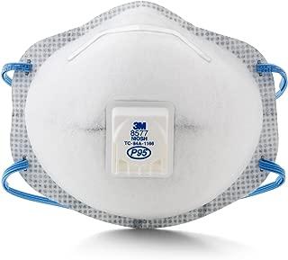 3M 8577 P95 颗粒物呼气口罩,可以释放令人讨厌的蒸气