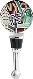 LSArts Wine Bottle Stopper, NYC