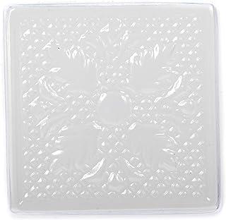 World Of Moulds 4 个中空空间,压花的方形肥皂编织/浴缸炸弹形状