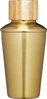 BarCraft 金属鸡尾*瓶,650 毫升(22 液体盎司) - 黄铜饰面 黄铜抛光 250 ml BCSHAKMINIBRA