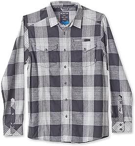 KAVU 男式 Lorenzo 系扣衬衫