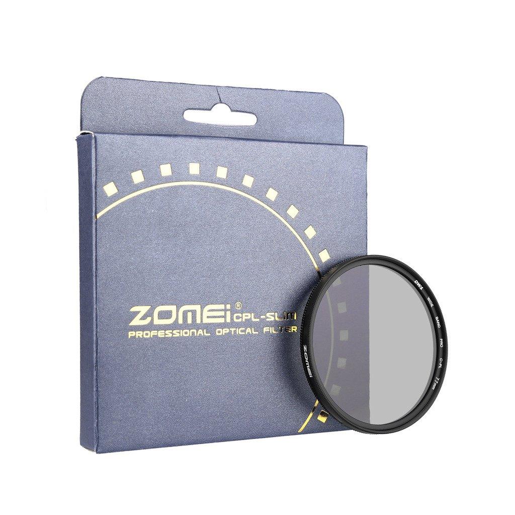 zomei 超薄 agc 光学玻璃 pro cpl 圆形偏光镜镜片过滤器cominu049151