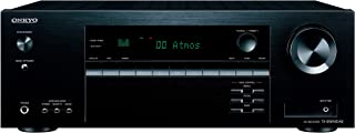 Onkyo 安桥 TX-SR494DAB 7.2声道AV接收器(蓝牙 DTS:X,Hi-Res,杜比大气,DAB+),黑色