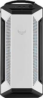 ASUS 华硕 TUF Gaming GT501 白色版手机壳支持高达EATX 金属前板,钢化玻璃侧板,120mm RGB 风扇,140mm PWM 风扇,空间保留,USB 3.1 Gen 1
