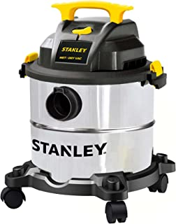 "STANLEY 4 HP wet/dry 真空 Stainless 5 Gallon, 4.0 HP, 50"" Sealed Pressure,需配变压器"