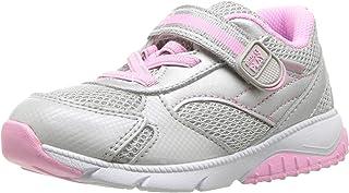 Stride Rite Kids Indy 男孩和女孩高级皮革运动鞋