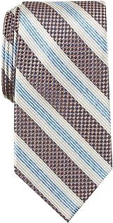 Perry Ellis Portfolio 男士丝绸方格领带