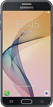 三星 Galaxy J7 Prime G610M - 4G LTE 5.5 英寸无锁手机,带指纹扫描仪(黑色)