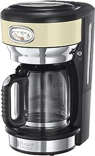 Russell Hobbs 复古不锈钢咖啡壶 - 带杯子 Cream 21702-56