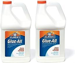 Elmer's 膠水——多用途膠水,強力,1加侖(3.78升),2瓶——非常適合制造粘液