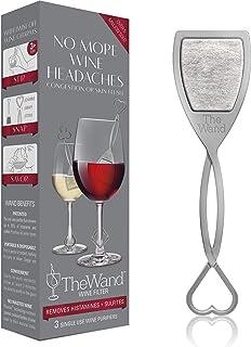 The Wand - *葡萄*滤清器可去除历史和硫酸盐防腐剂 - Savor the Wine, Skip the Side Effects 灰色 VINO3H