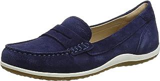 Geox 健乐士 女士 D Vega Moc A 莫卡辛鞋 Blau (Blue C4000) 41 EU