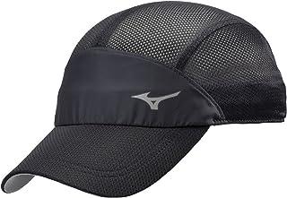 [Mizuno 美津浓] 跑步帽 橡胶可调节式网面 男女通用 J2MW8001